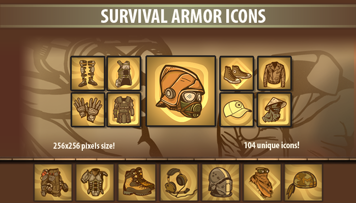 Survival Armor Icons