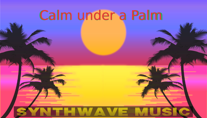 Calm under a palm