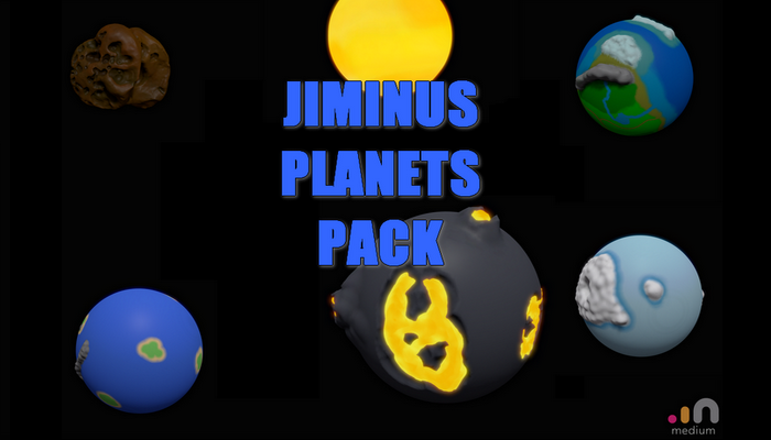 Jiminus Planets Pack