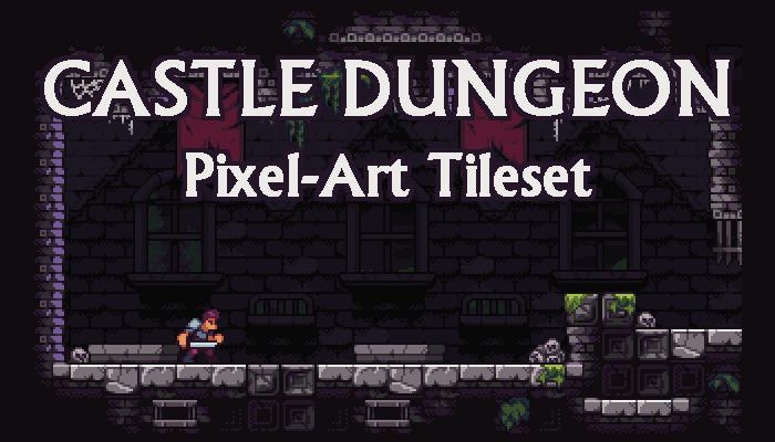 Castle Dungeon – Fantasy Pixelart Tileset