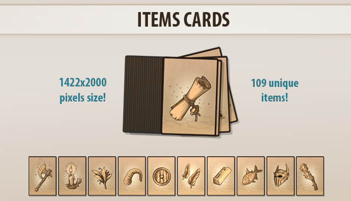 Items Cards