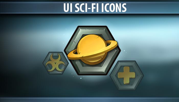 UI Sci-Fi Icons
