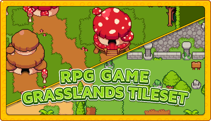 7Soul's RPG Graphics – Tiles – Grasslands