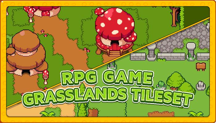 7Soul's RPG Graphics – Tiles – Grasslands