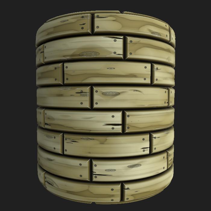 Stylized Wood 4