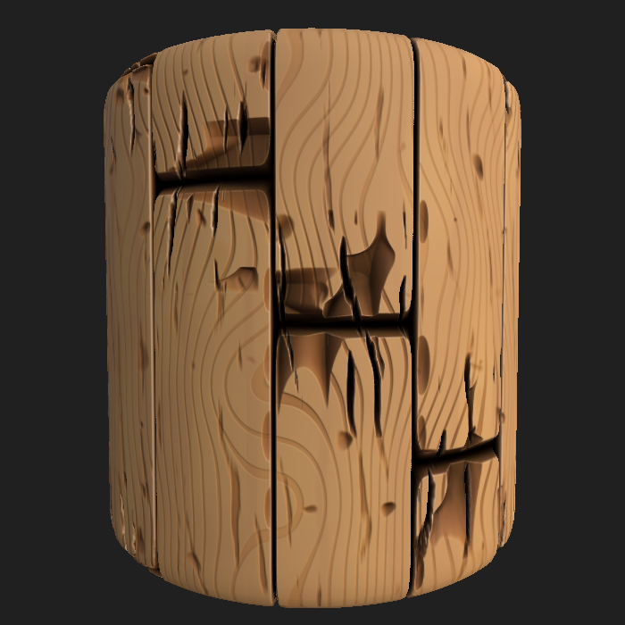 Stylized Wood 2
