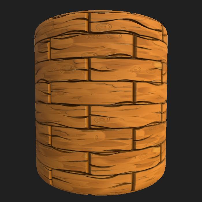 Stylized Wood 1