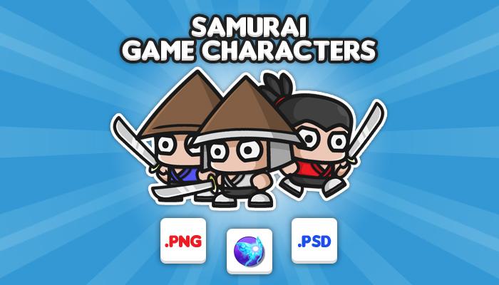 Samurai Chibi – Game Characters