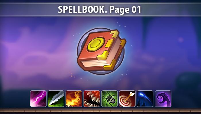 SpellBook. Page01