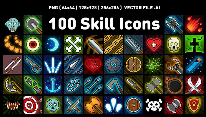 Fantasy Skill Icons #01