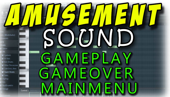 amusement music for game with 3 type