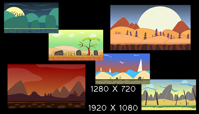 2d backgrounds games