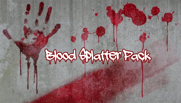 Blood Splatter Pack