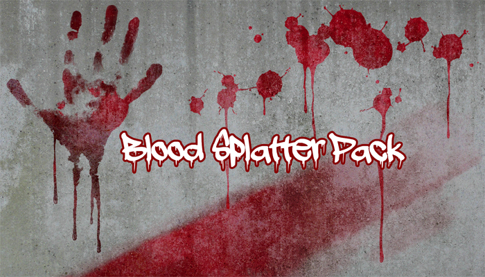 Blood Splatter Pack