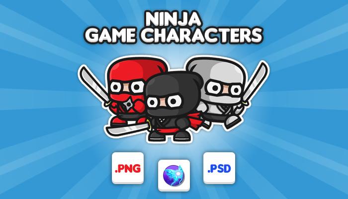 Ninja Chibi – Game Characters