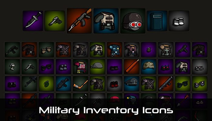 Military Inventory Icons
