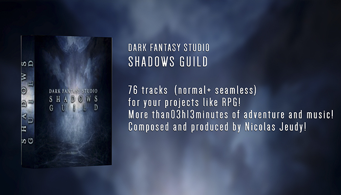 Dark Fantasy Studio- Shadows Guild (rpg adventure music)
