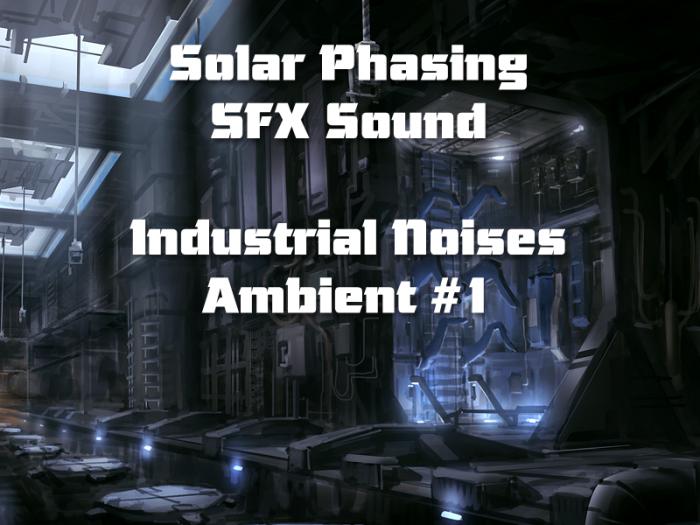 Industrial Noises Ambient #1