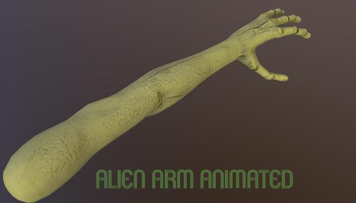Alien Arm Animated