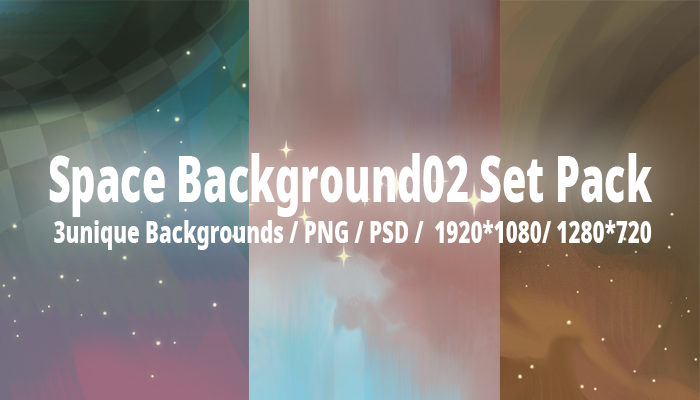 Space Background02 Set Pack