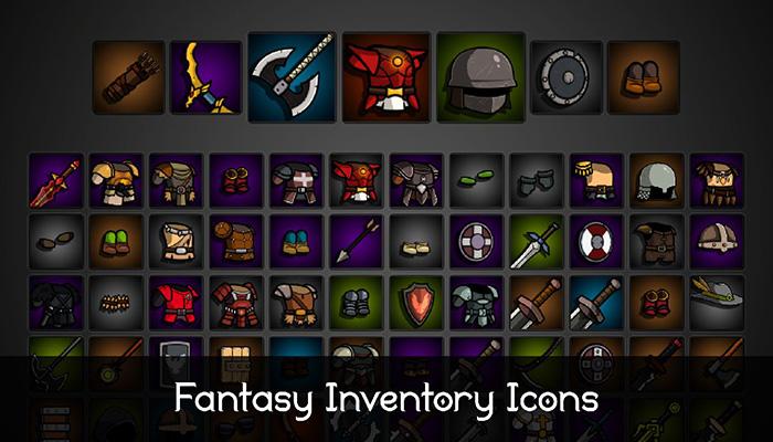 Fantasy Inventory Icons