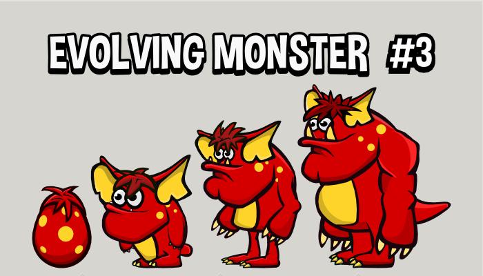 Evolving monster 3