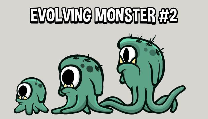 Evolving monster 2