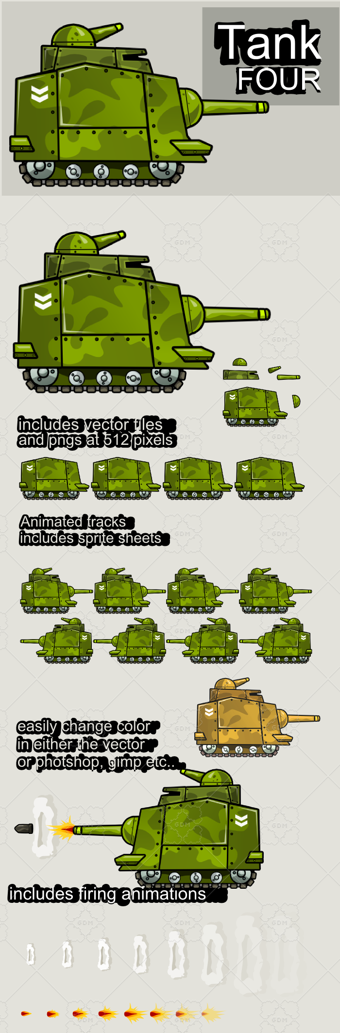 Animated tank 4