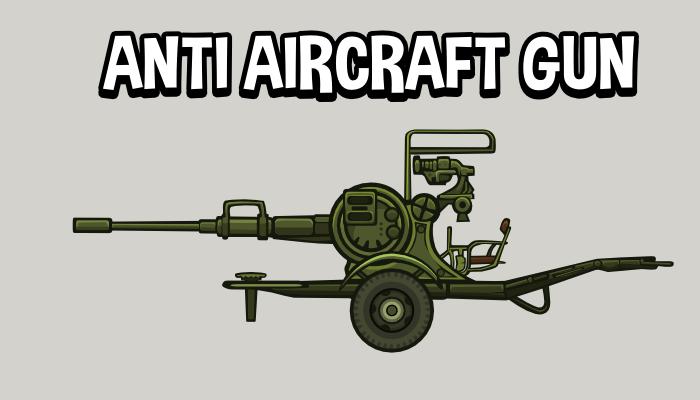 Anti aircraft gun