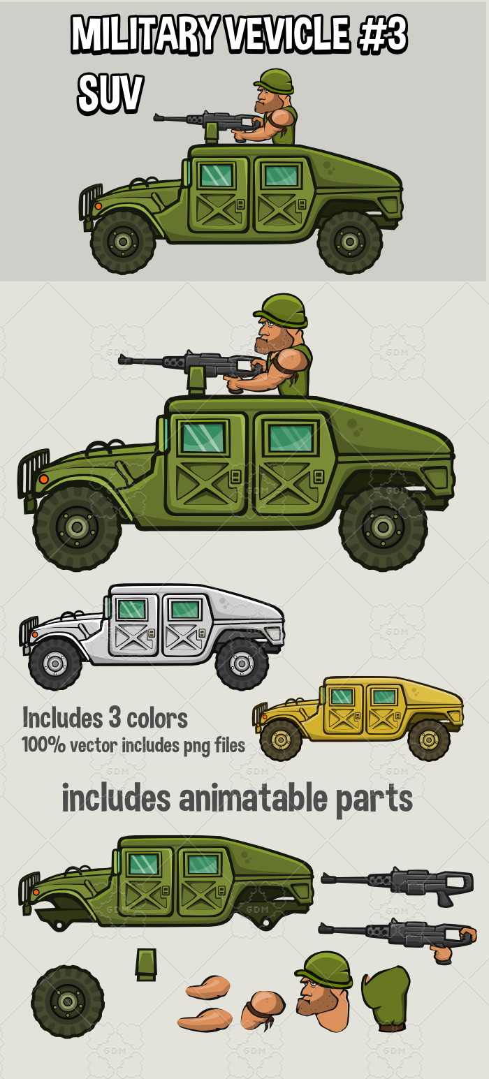 Military vehicle 3