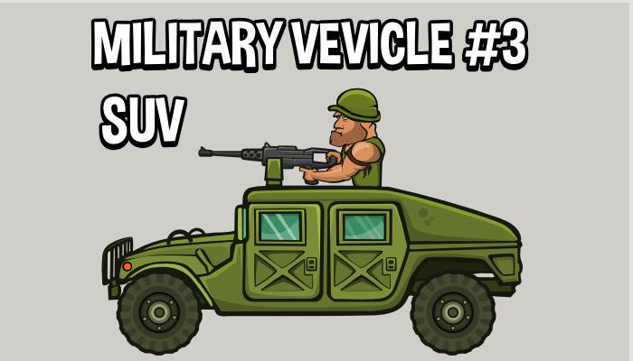 Military vehicle 3