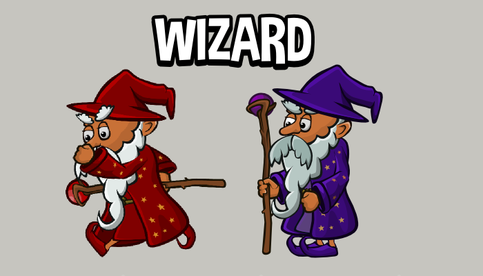 Animated wizard