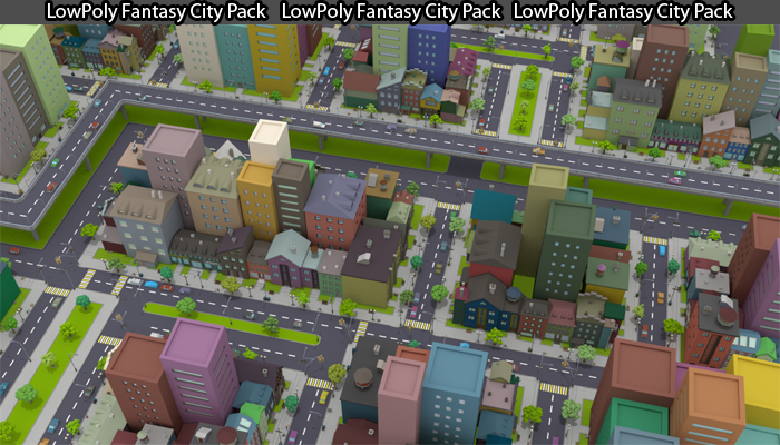 Fantasy City Pack