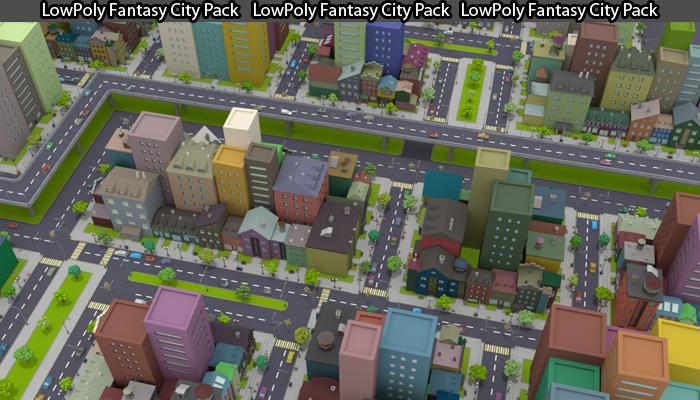 Fantasy City Pack