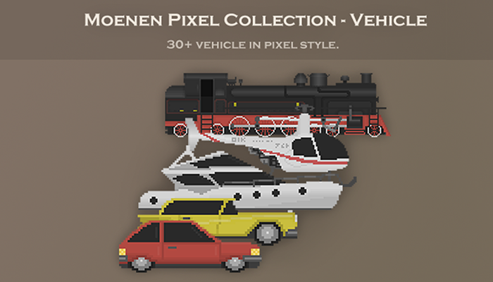 Moenen Pixel Collection – Vehicle