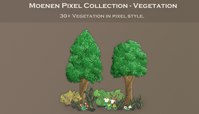 Moenen Pixel Collection – Vegetation