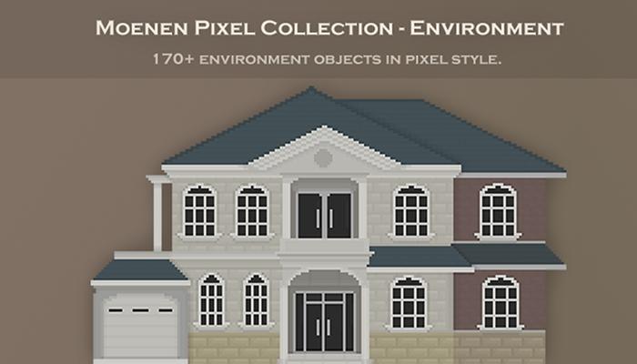 Moenen Pixel Collection – Environment