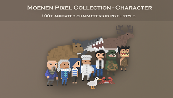 Moenen Pixel Collection – Character