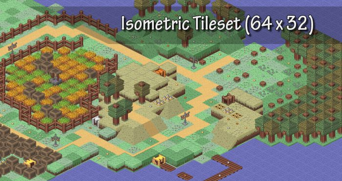 Isometric pixel pack
