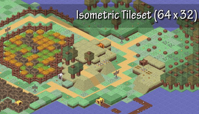 Isometric pixel pack
