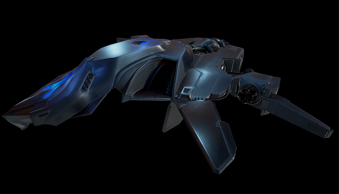 Top-Down Sci-Fi Fighter