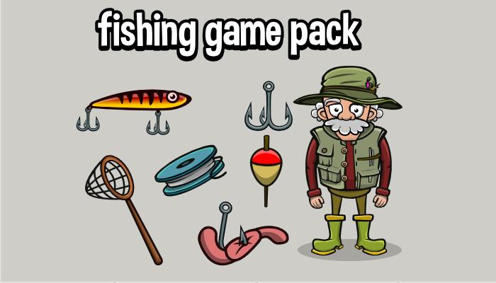 Fishing game asset pack