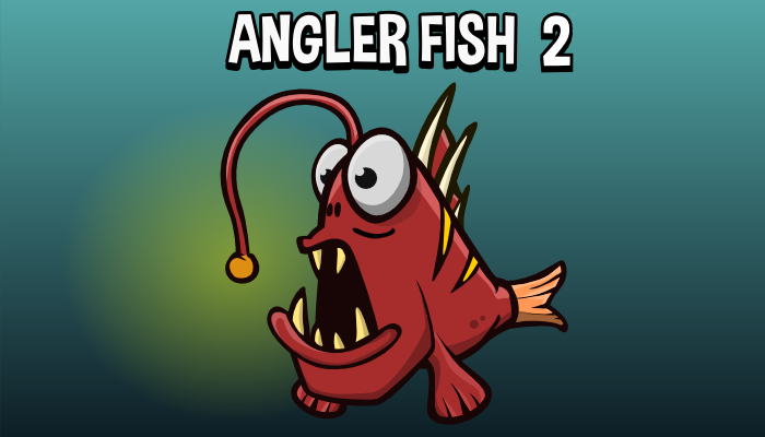 Animated angler fish 2