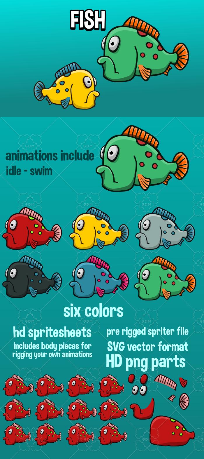 Animated fish 4
