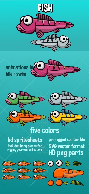 Animated fish 3
