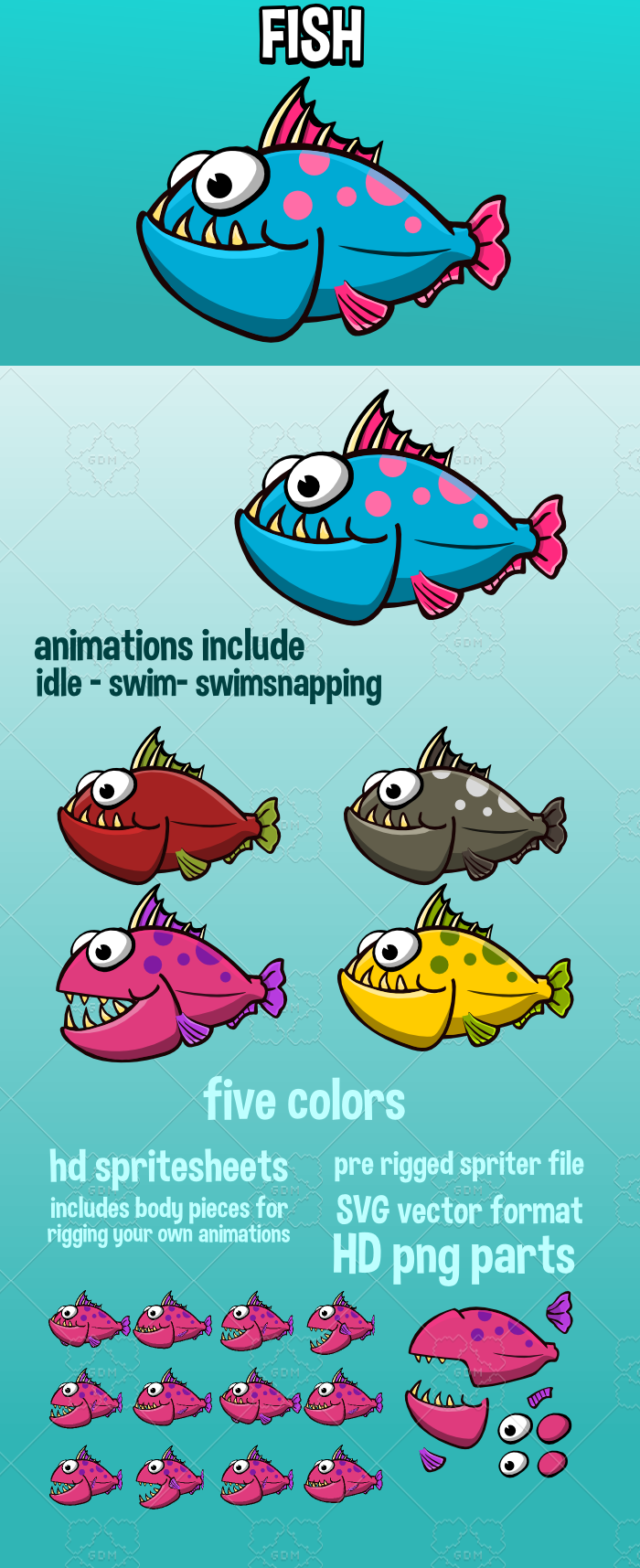 Animated fish 2