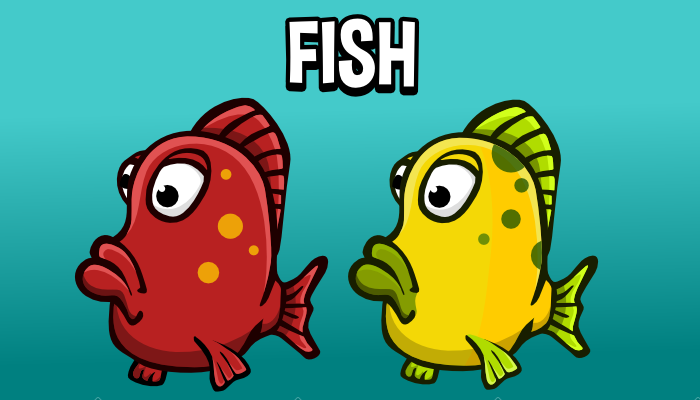 Animated fish