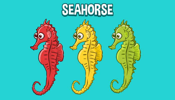 Animated seahorse