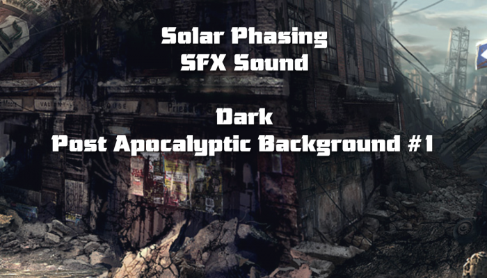 Dark Post Apocalyptic Background #1