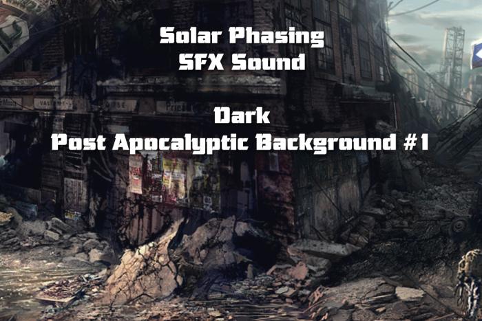 Dark Post Apocalyptic Background #1